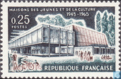 Postage Stamps - France [FRA] - Youth and Culture House 20 years