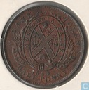 Lower Canada ½ penny 1844