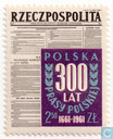 Polish press 300 years
