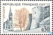 Postage Stamps - France [FRA] - Church and tower