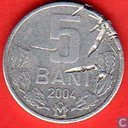 Moldavie 5 bani 2004