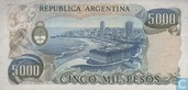 Bankbiljetten - 1976-83 ND Issue - Argentinië 5000 Pesos 1977