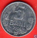 Moldavie 5 bani 2006