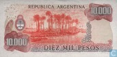 Banknoten  - 1976-83 ND Issue - Argentinien 10.000 Pesos 1976