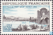 Postage Stamps - France [FRA] - Bridge Pont-Saint-Esprit