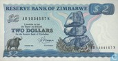 Billets de banque - Zimbabwe - 1980-1994 Issue - Zimbabwe 2 Dollars 1983