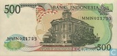 Banknotes - Indonesia - 1984-1988 Issue - Indonesia 500 Rupiah 1988