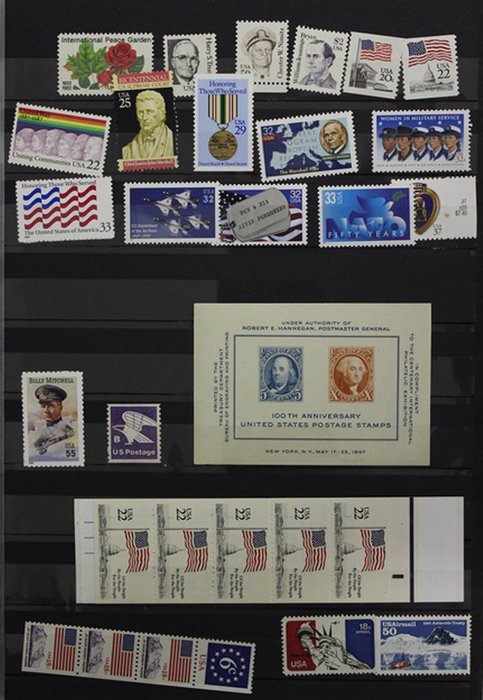 United States 1870/1975 - Collection in a Harris albums