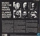 Disques vinyl et CD - Boland, Francy - Clarke Boland Sextet Music for the small hours