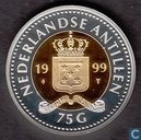 Netherlands Antilles 75 gulden 1999 (PROOF)