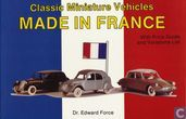 Classic Miniature Vehicles Made in France