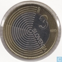 "Slovénie 3 euro 2009 ""Centenary of the first flight over Slovenia by Edvard Rusjan"""