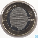 "Slovénie 3 euro 2012 ""100th Anniversary of the first-ever Slovenian Olympic Gold Medal"""