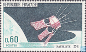 Postage Stamps - France [FRA] - Satellite D1