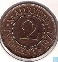 Maurice 2 cents 1971