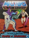 He-Man vs. Skeletor in the temple of darkness