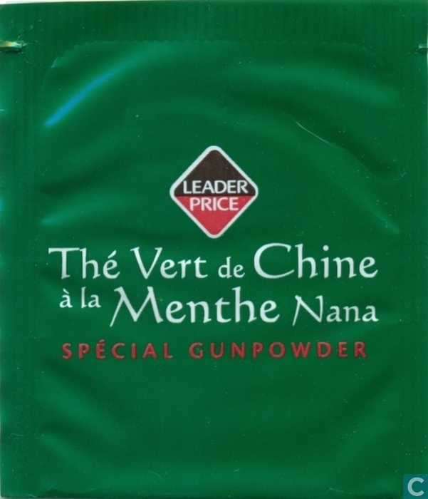 th vert de chine la menthe nana leader price catawiki