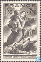 Postage Stamps - France [FRA] - Bombing victims