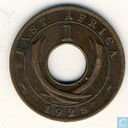Oost-Afrika 1 cent 1928 (KN)