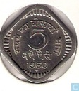 Indien 5 Naye Paise 1960 (Bombay)