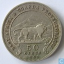 East Africa 50 cents 1909