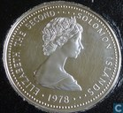 "Solomon Islands 5 dollars 1978 (PROOF) ""Coronation Jubilee"""