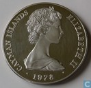 "Kaaimaneilanden 25 dollars 1978 ""25th anniversary of Coronation - Ampulla"""