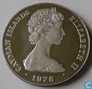 "Kaaimaneilanden 25 dollars 1978 ""25th anniversary of Coronation - Royal Sceptre"""