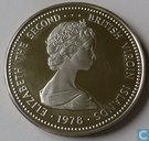 "British Virgin Islands 25 dollars 1978 ""Coronation Jubilee"""