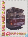 Personal Stamp old city bus