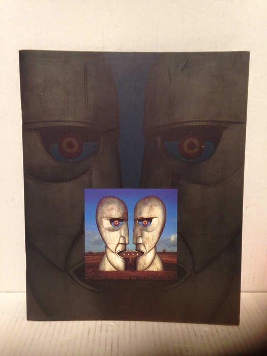 Pink Floyd The Division Bell Tour Book