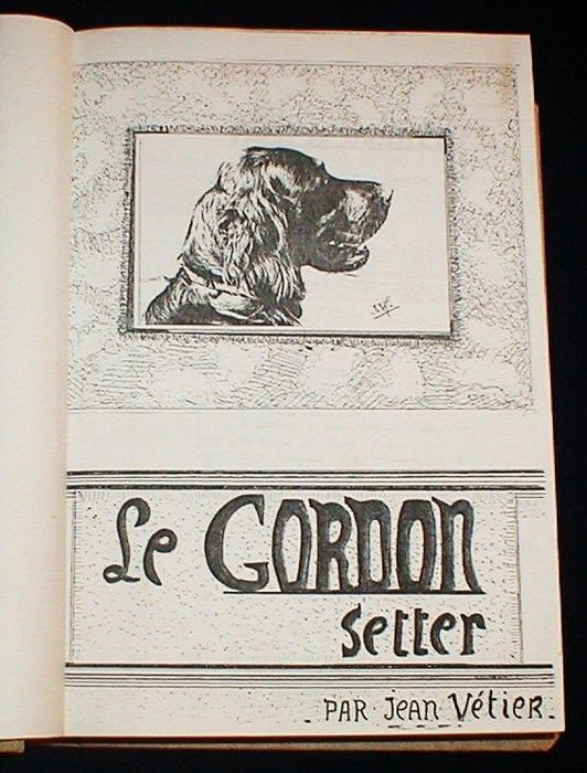 Animals; Jean Vétier - Le Gordon Setter - (1977)