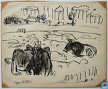 Jan Wiegers-landscape with cows