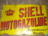 Oldest item - Enseigne Shell
