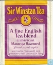 A Fine English Tea Blend al maracuja