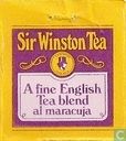 Tea bags and Tea labels - Sir Winston Tea - A Fine English Tea Blend al maracuja