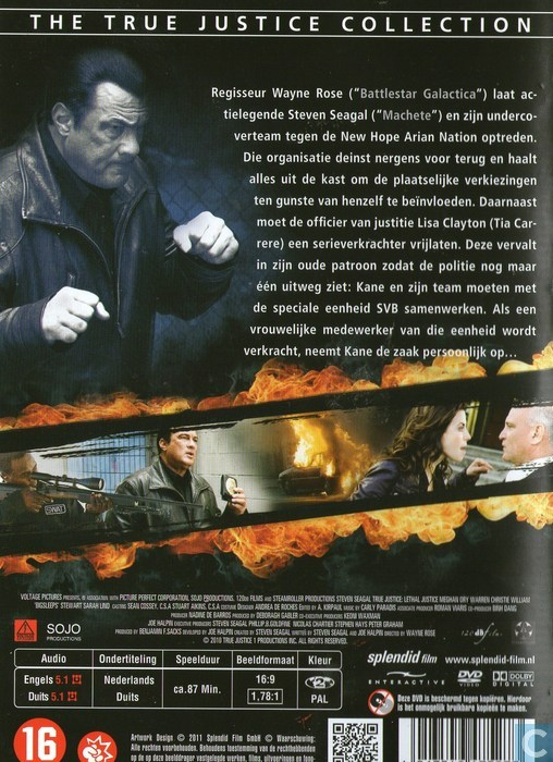 Lethal Justice - DVD - Catawiki