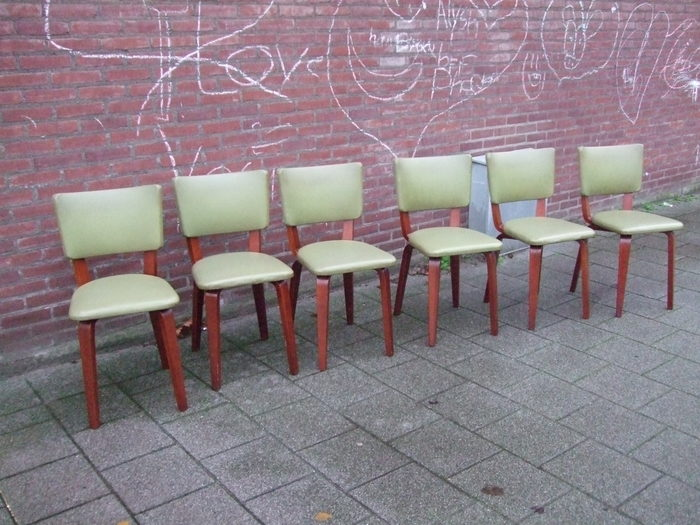 Cor alons 6 dining room chairs catawiki for Dining room furniture auctions