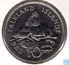 Falkland Islands 10 pence 1983