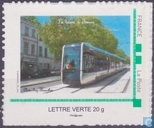Opening tram in Tours