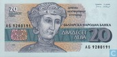Banknoten  - Bulgarian National Bank - Bulgarien 20 Leva