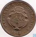 Costa Rica 1 colon 1948