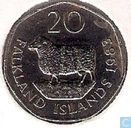 Falkland Islands 20 pence 1983