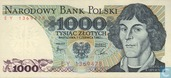 Banknotes - Poland - 1952-1989 People's Republic - Poland 1,000 Zlotych 1982