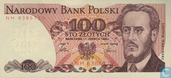 Billets de banque - Pologne - 1952-1989 People's Republic - Pologne 100 Zlotych 1986