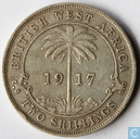 British West Africa 2 shillings 1917
