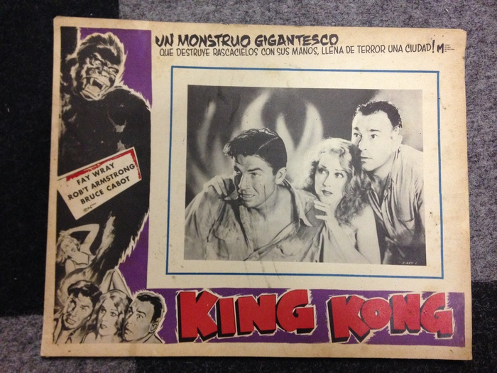 Filmposter: Lobby Card: King Kong