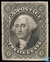 "Presidents with inscription ""U.S. POSTAGE"""
