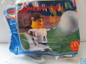 Lego 7923 Soccer Player White