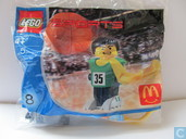 Lego 7918 Basketball player green